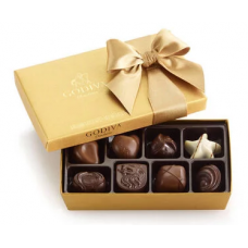Godiva Assorted Chocolate Gold Gift Box (Price Per Product with Base Price / Grid View)